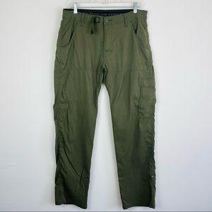 Prana Roll Up Hiking Cargo Pants
